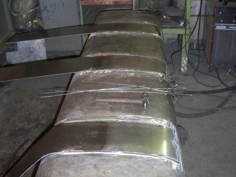 Ремонт топливного бака (800 л.)