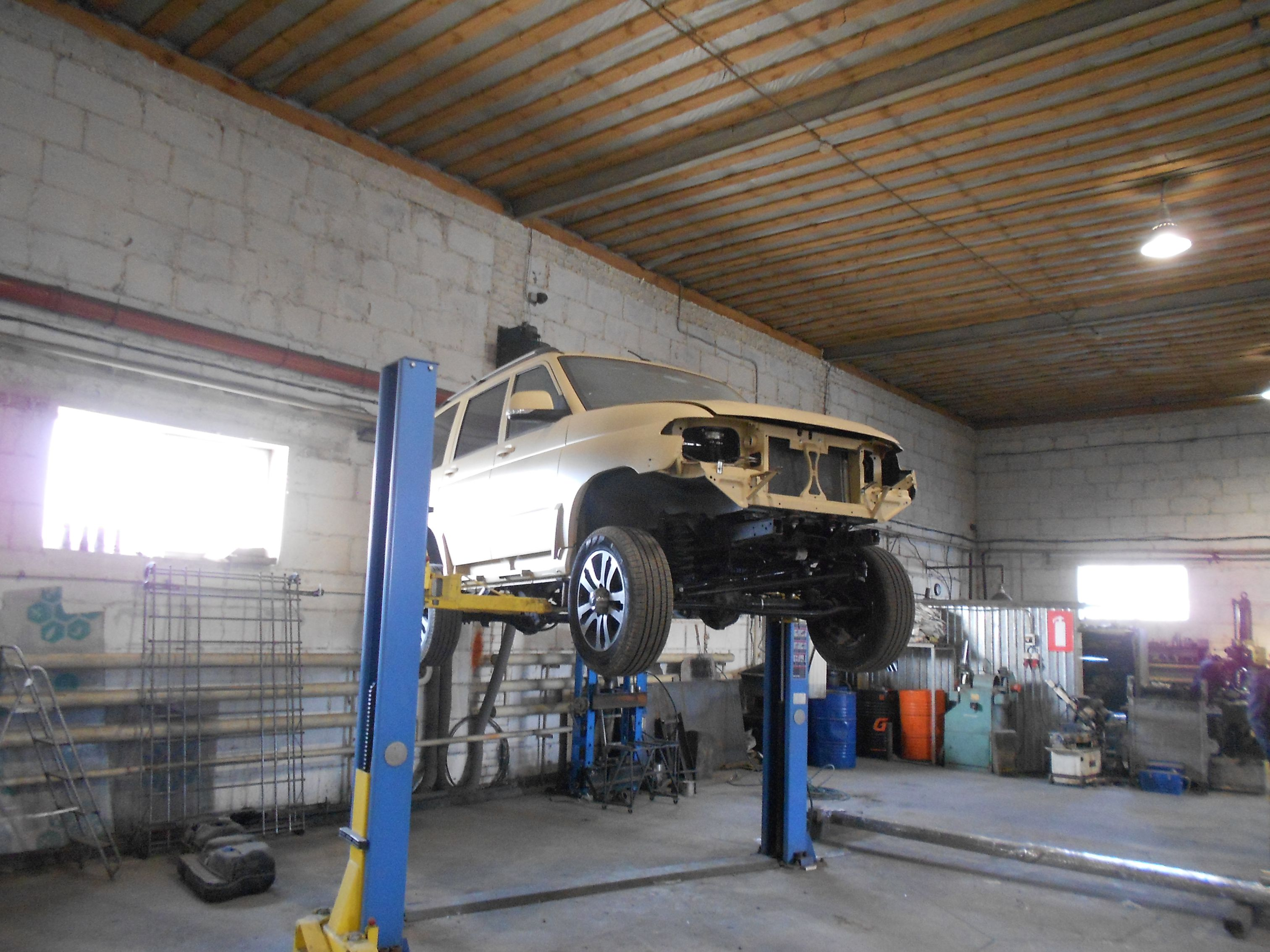 Изготовление кастомного бензобака УАЗ Патриот