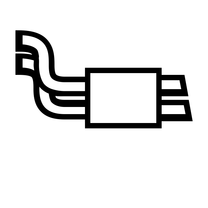Сварка аргоновая глушителя, выхлопной системы