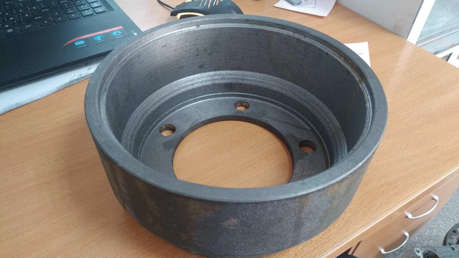 Изготовление тормозного барабана